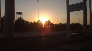 Sunrise in Jeddah Hajj Airport